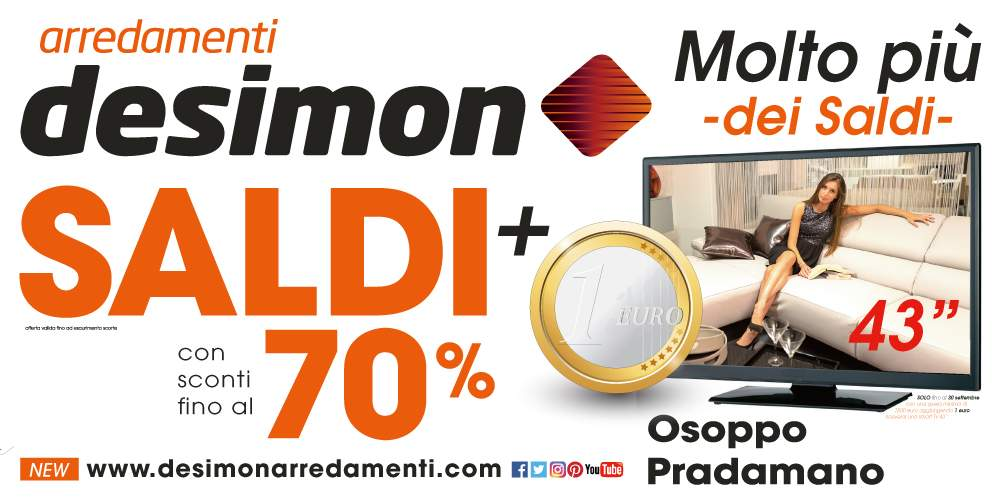 tv 1 euro   De Simon Arredamenti