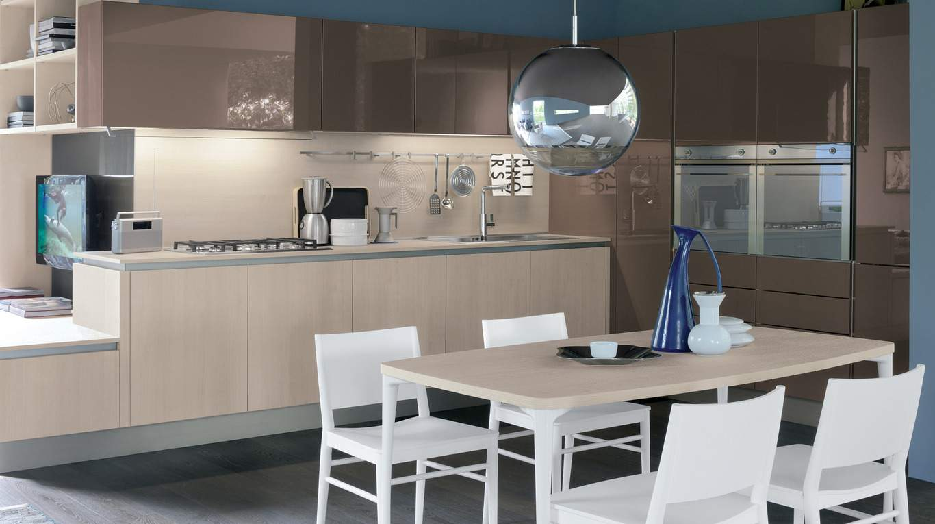 Oyster decorativo de simon arredamenti for Cucine moderne 4 mt