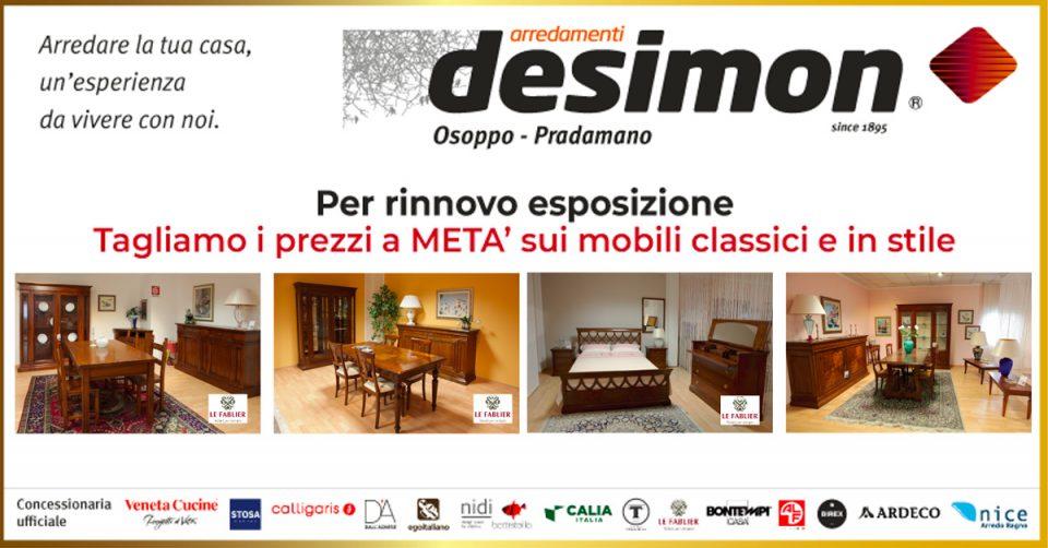 Promozioni Mobili Classici.Le Promozioni Desimon De Simon Arredamenti Part 2