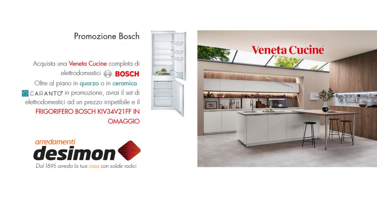 Promozione Veneta Cucine 2020.Promozione Frigorifero Bosch De Simon Arredamenti